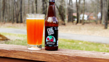 Erie Derailed Back Cherry Cream Ale in a glass.